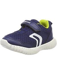 Geox B Waviness B, Sneakers Basses Bébé Garçon, Bleu