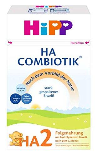 HiPP Milchnahrung HA HA2 ComBiotik, 4er Pack (4 x 500 g)