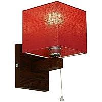 Lampada da parete–wero Design Vigo di 024B–7varianti, lampada da parete, lampada, lampada, in legno massiccio, in legno di quercia, Legno di Quercia rosso trasparente