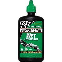 Finish Line - Lubricante húmedo con teflón para cadenas de Mountain Bike (120 ml)