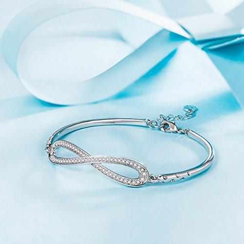 Lady-colour-Infinito-Pulsera-mujer-con-cristales-de-Swarovski-regalos-cumpleanos-regalos-dia-de-la-madre-regalos-de-san-valentin-regalos-de-Navidad-color-plata
