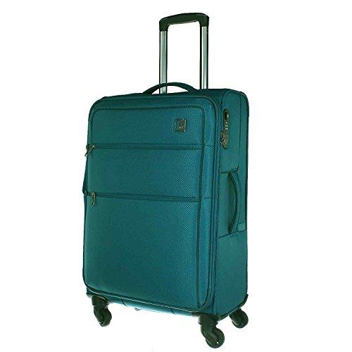 TITAN CLOUD 4w trolley M, expandable, 378405-22 Koffer, 67 cm, 77 L, Aqua (4-wege-tasche)
