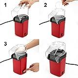 Lorenlli Pop-Corn électrique Portable Maison Rond/carré Pop-Corn à air Chaud Faisant la Machine de Cuisine de Bureau Mini Bricolage maïs Fabricant