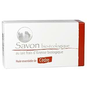 Les Anes dAutan Savon au lait d'ânesse bio et HE de Cèdre 100gr