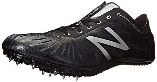 New Balance Men's SD200V1 Track Spike Shoe Black / Silver