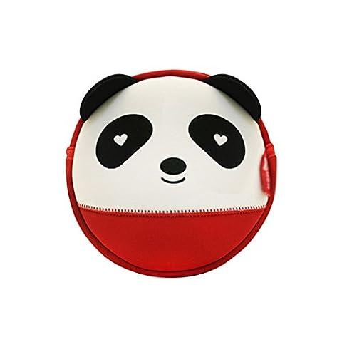 NohooHaha 3D Panda Kinderrucksäcke für Kindergarten,Schule und Wandern,für 2-5 Jahre Mädchen und Jungen
