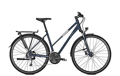 RALEIGH Rushhour 1.0 Freilauf Damen Trekkingrad Fahrrad deepskyblue matt 2019 RH 50 cm / 28 Zoll