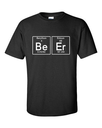 Periodic Beer Bier T-Shirt Schwarz