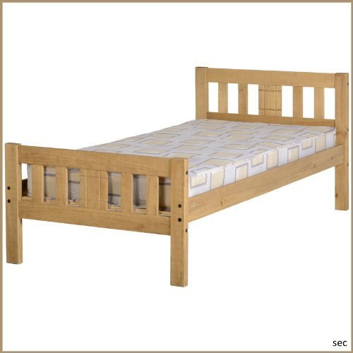 Mexican Solid Pine Single Bed