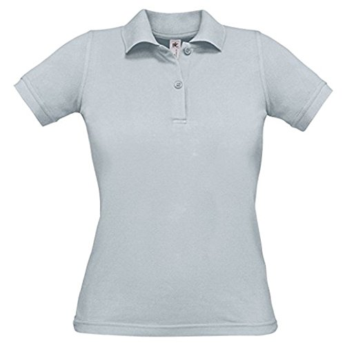 B&C Collection Damen Modern T-Shirt Gr. XL, Pacific Grey (Pacific Knit Shirt)