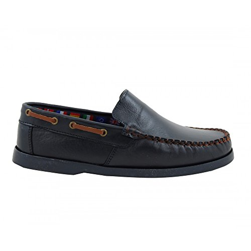 Paola Moretti - botas sin cordones hombre , color negro, talla 41.5