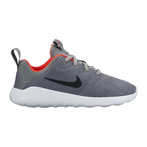 Nike Kaishi 2.0 (Ps), Chaussures de Running Entrainement Garçon Cool Grey/Black-Max Orange-White