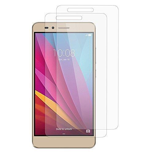 Schutzhülle gel UltraSlim et Passform genaue für Huawei Honor 5X/ Honor X5/ Huawei GR5 - 2 Folien transparent