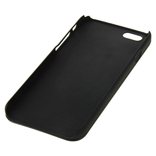 Wkae Case & Cover 2 en 1 brossé de métaux et de protection en plastique texture pour iphone 6 plus &6s et ( SKU : S-IP6P-0523S ) S-IP6P-0523B