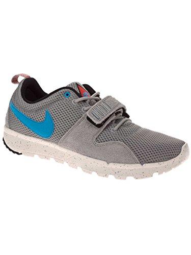 Nike Sb Trainerendor Uomo Moda Scarpe Base Grigio Grigio (base grey/vivid blue/sail)