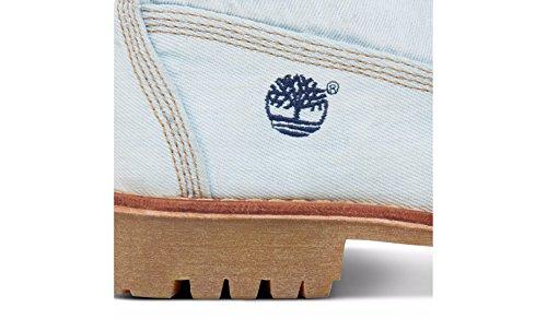 Timberland Ltd Fabric 6in G83, Bottes et Bottines Classiques Mixte Adulte Bleu (Light Blue Denim)
