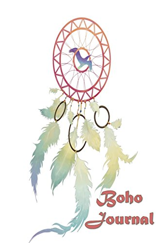 Boho Journal: 140 Lined Pages Softcover Notes Diary, Creative Writing, Class Notes, Composition Notebook - Pastel Dreamcatcher