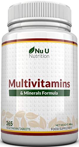 MultiVitamins & Minerals Formula | 24 complemento vitamínico (Vitaminas y Minerales |...