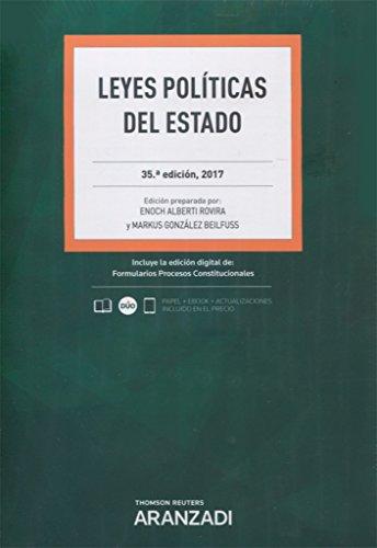 Leyes Políticas del Estado (Papel + e-book) (Código Profesional)