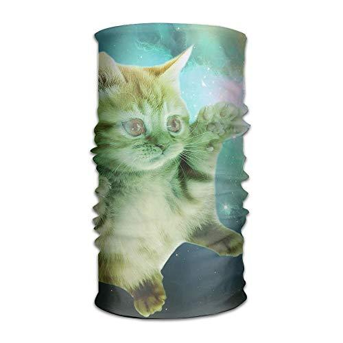 adband Naughty Space Cat Head Scarf Wrap Sweatband Sport Headscarves for Men Women ()