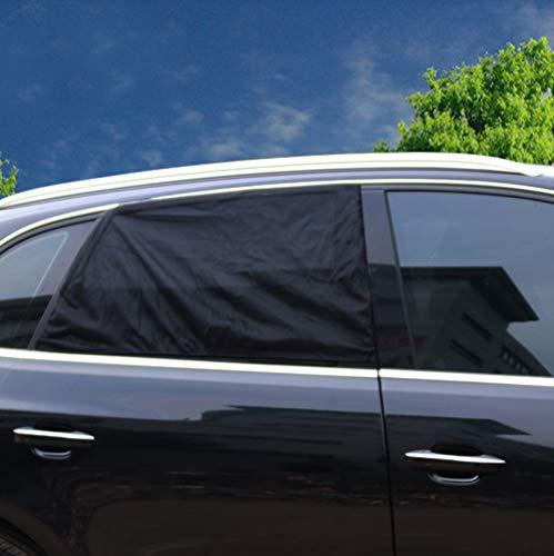 2er-Pack Auto Sun Shades Abdeckungen, Sonnenschutz Rollos Mesh Visor Bietet Maximale UV-Strahlen Schutz Für Kleinkinder, Kinder und Haustiere, Passt Die Meisten Autos