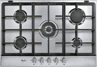 Whirlpool AKR 358/ix – Plaque (intégrée, gaz, acier inoxydable, rotatif, partie supérieure avant, 50 Hz)