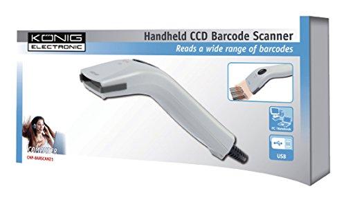 KOENIG Handscanner barcode Code Full ASCII Code 39 Code 128 Code 11 Interleaved 2/5 Industrial 2/5/IATA Matrix 2/5 China