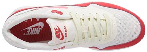 Nike Air Max 1 Ultra Essentials, Scarpe da Corsa Donna Rosso (Rot (Sail/Challenge Red-Black 100))
