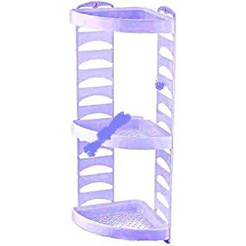 adjustable plastic 3 tier bathroom corner shower caddy. Black Bedroom Furniture Sets. Home Design Ideas