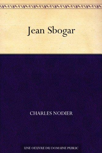 Couverture du livre Jean Sbogar