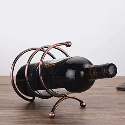 YQQ Metallkette Weinflaschenhalter Magic Floating Weinflaschenhalter (Design : D)