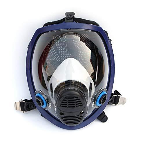 Ligero máscara facial cara completa Máscara antigás