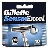 Gillette Sensor Excel Rasierklingen, 3x10Stück
