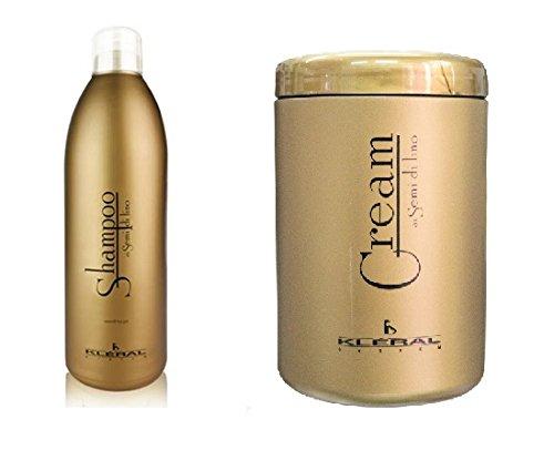 kleral-italy-semi-de-lino-shampoo-1000ml-cream-conditioner-1000ml-combo-set