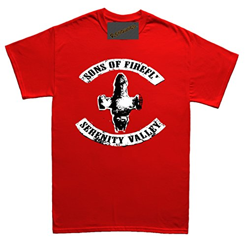 Renowned Sons of Leaf in the wind Unisex - Kinder T Shirt Rot
