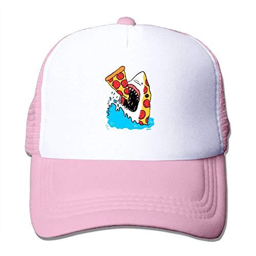 UUOnly Pepperoni Pizza Shark Food Feinschmecker Meer Ozean Mesh Baseball Cap Erwachsene einstellbare Trucker Hat für Männer Frauen Fußball Mesh Trucker Hat-cap