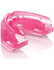 Zahnschutz Double Braces pink Erwachsene