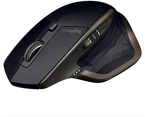 Foto Logitech MX Master Mouse Wireless Amz, Bluetooth/2.4 GHz Con Mini Ricevitore...