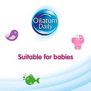 Oilatum Daily Junior Bath Foam for Dry Skin, 300 ml