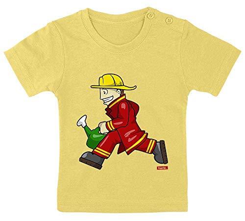 euerwehrmann Kanne Rennen Beruf Feuerwehr Plus Geschenkkarten Marschmallow Gelb 15-24 Monate / 80-92cm ()