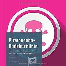 Piratensohn-Notizbuchlinie: Meuterei und das Hinterlassen von Einträgen ausdrücklich erlaubt (Variante: pink)