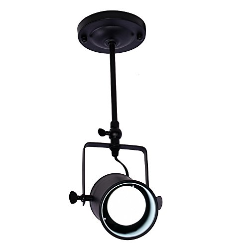 Lingkai 1 light mini semi flush ceiling light pendent lamp