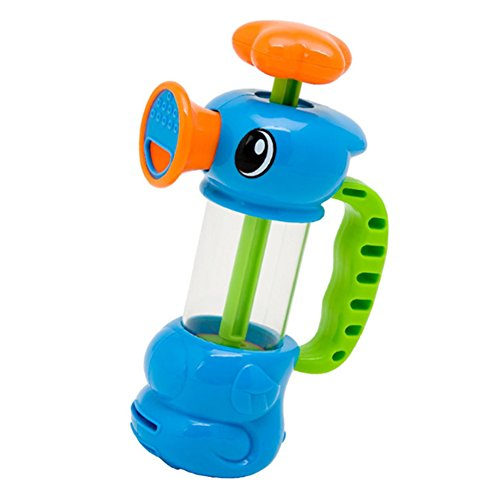 Demiawaking Baby Bad Wasser Spielzeug Pumping Design Bunte Hippocampal Form Badewannenspielzeug Wasser-spielzeug Für Babys