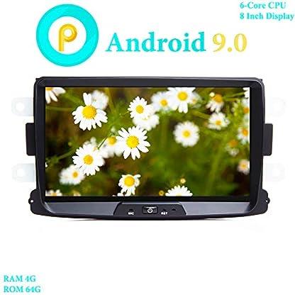 XISEDO-8-Android-90-Autoradio-In-Dash-Car-Radio-6-Core-RAM-4G-ROM-64G-Autonavigation-fr-Dacia-SanderoRenault-DusterLogan-2
