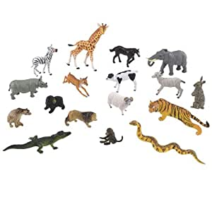 Early Learning Centre Wild Animal Set Amazon Co Uk Toys Games