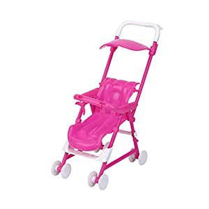 Generic Doll Furniture Baby Carriage Stroller Trolley for Kelly Doll