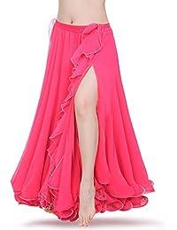 ROYAL SMEELA Nueva Mujer Traje de Falda de Danza del Vientre Vestido de  Falda de chifón 524d5824c11c