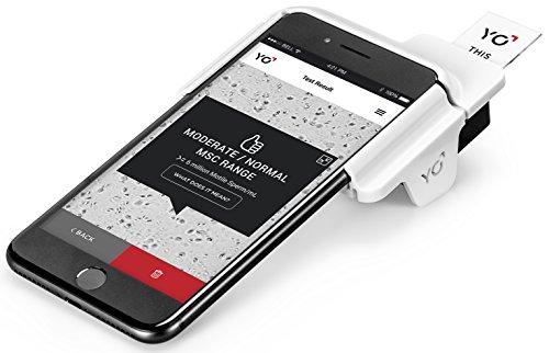 Yo Home Sperm Test für Apple iPhone 7Plus + nur | motile Sperm Fruchtbarkeit Analyse für Herren | Überprüfen Sie beweglichen Spermien und Videos im | Batch: Angemeldet (Fruchtbarkeit Test-kit)