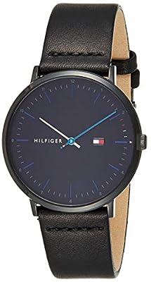 Tommy Hilfiger Reloj Analógico para Hombre de Cuarzo con Correa en Cuero 1791462