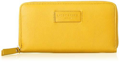 Liebeskind Berlin Damen Essential Sally Wallet Large Geldbörse Gelb (Tawny Yellow), 2.0x10.0x20.0 cm Gelbe 10